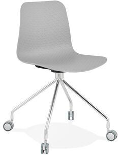 Chaise design Polymère Gris RULLE Chaises de cuisine et salle à manger Kokoon Design
