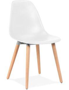 Chaise design Polymère Blanc DOC Chaises de cuisine et salle à manger Kokoon Design