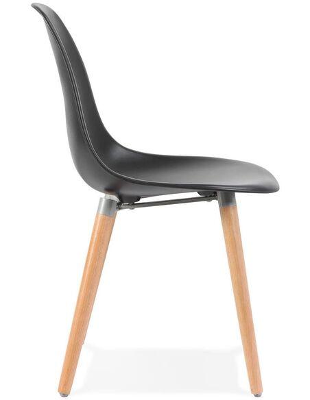 Chaise design Polymère Noir DOC Chaises de cuisine et salle à manger Kokoon Design