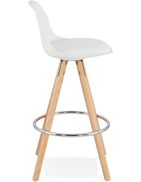Tabouret de bar design Polymère Blanc ANAU MINI Chaises de bar Kokoon Design