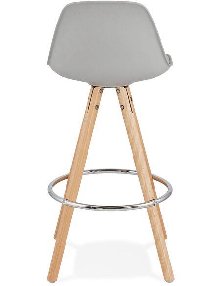 Tabouret de bar design Polymère Gris ANAU MINI Chaises de bar Kokoon Design