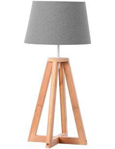 Lampe de salon RASALA 250 Naturel Gris - par Arte Espina