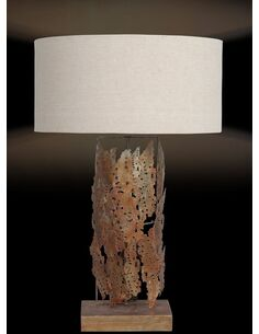 Lampe de salon IMPRESSION SMALL Or - par Arte Espina