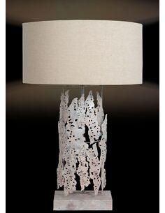 Lampe de salon IMPRESSION SMALLE ISLANDE Argent - par Arte Espina