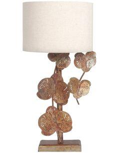 Lampe de chevet AUTOMNE FLEURS - Lampes de chevet par Arte Espina