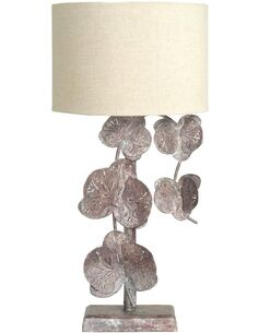 Lampe de chevet Automne Fleurs Bronze Lampes de chevet Arte Espina