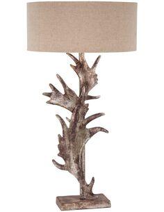 Lampe de chevet WINTER ART LARGE SHADED Champagne - par Arte Espina