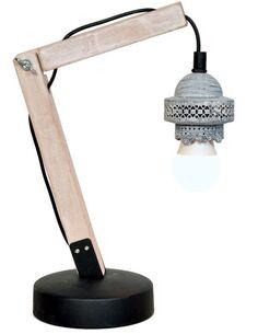 Lampe de bureau ROSSA VI Gris - par Arte Espina