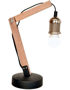 Lampe de bureau ROSSA I Argent - par Arte Espina