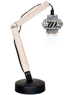 Lampe de bureau ROSSA V Gris - par Arte Espina