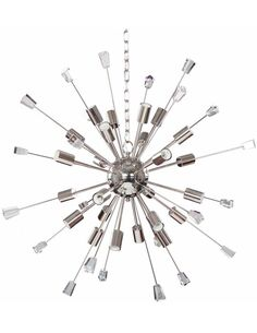 Suspension MICARE I 310 Nickel Transparent - par Arte Espina