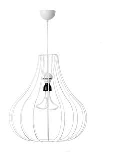 Suspension LEONIE 110 Blanc - par Arte Espina