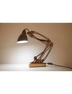 Lampe de bureau MEROP TEAK - par Arte Espina