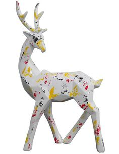 Sculpture DEER 120 Multicolore  - par Arte Espina