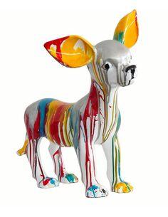 Sculpture CHIHUAHUA 120 Multicolore  - par Arte Espina