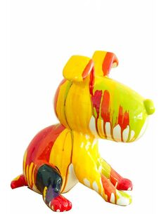 Sculpture BEAGLE I 21-J Multicolore  - par Arte Espina