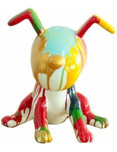 Sculpture BEAGLE II 21-J Multicolore  - par Arte Espina