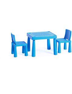x2 chaises + table LES ENFANTS ASSIS HANNAH Bleu - par Arte Espina