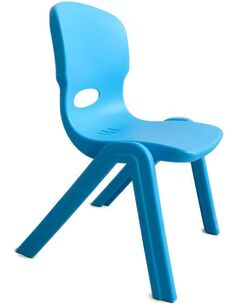 Chaise haute NINA Bleu - par Arte Espina