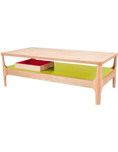 Table basse ADDISON II ASH Vert - par Arte Espina