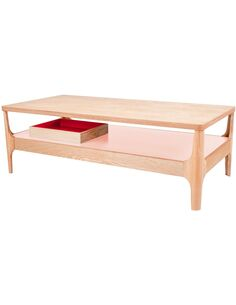 Table basse ADDISON III ASH Rose - par Arte Espina
