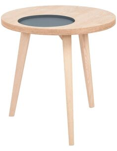 Table ADDISON I ASH Gris - par Arte Espina