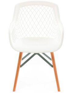 Lot de 2 Chaise Pure Style blanc Chaises de cuisine et salle à manger Arte Espina