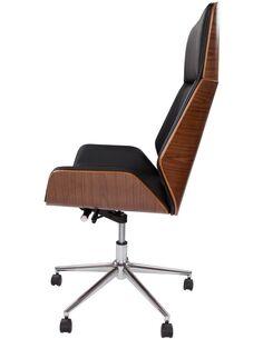 Chaise de bureau MALEKO 160 Noir - par Arte Espina