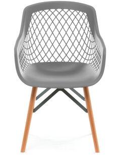 x4 chaises PURE STYLE Gris - par Arte Espina
