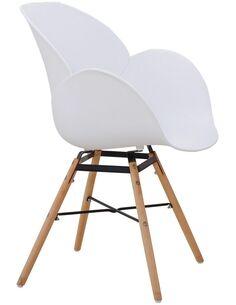 x2 chaises AMALIA 110 Blanc - par Arte Espina