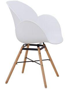 x4 chaises AMALIA 110 Blanc - par Arte Espina