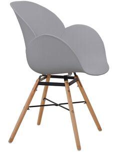 x4 chaises AMALIA 110 Gris - par Arte Espina