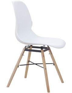 x2 chaises AMY 110 Blanc - par Arte Espina