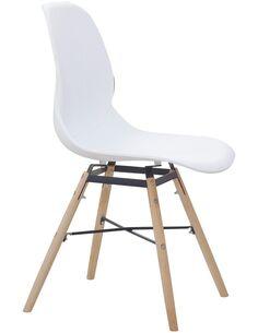 x4 chaises AMY 110 Blanc - par Arte Espina
