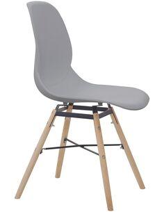 x2 chaises AMY 110 CHAISE Gris - par Arte Espina