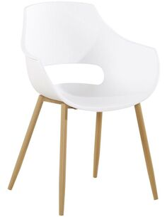 x4 chaises ALICE 110 Blanc - par Arte Espina