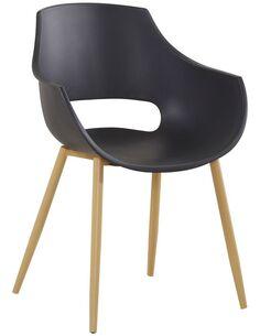 x4 chaises ALICE 110 Noir - par Arte Espina