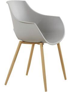x2 chaises ALICE 110 Gris - par Arte Espina