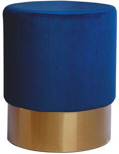 Pouf banquette NANO 110 Bleu Foncé - par Arte Espina