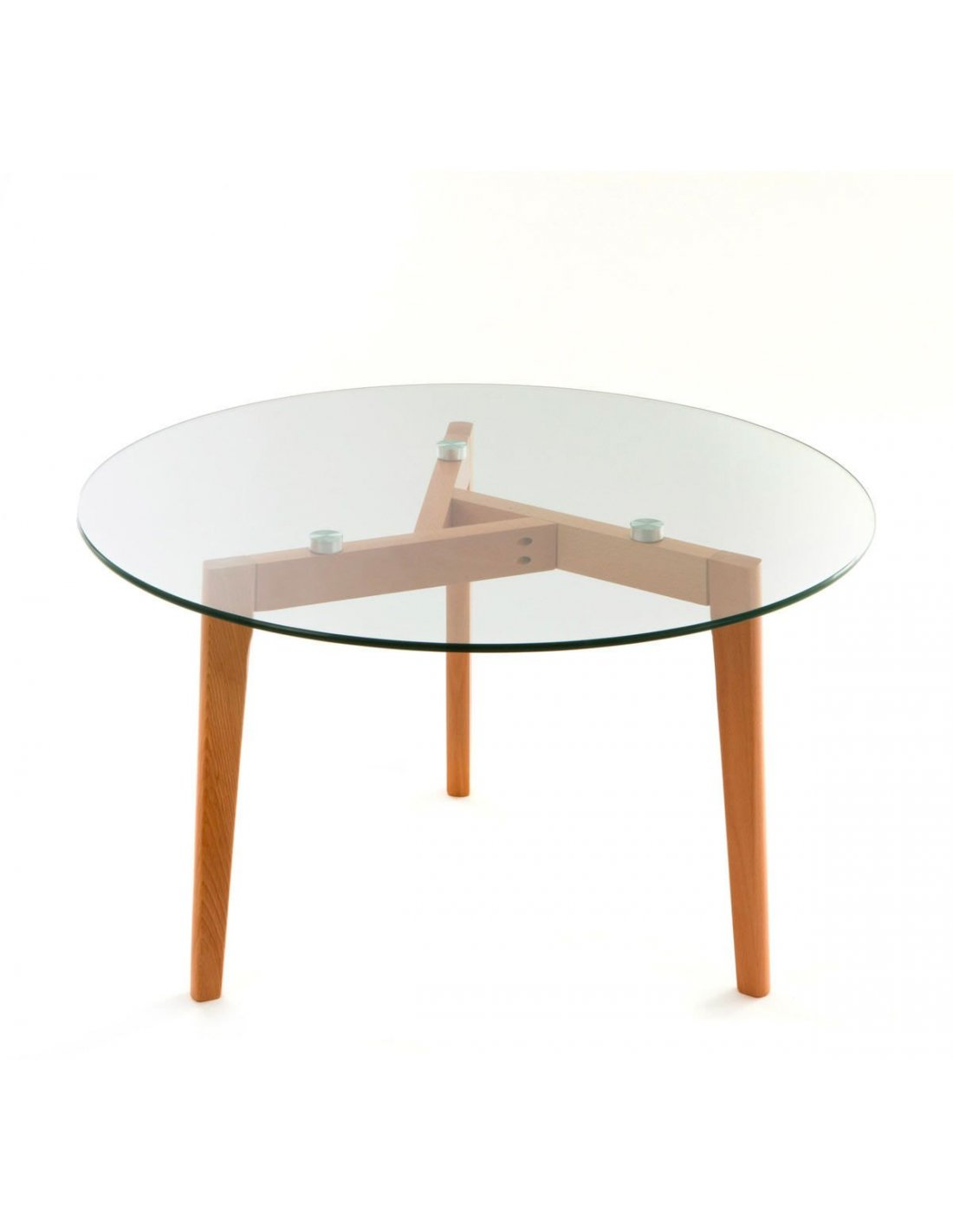 Table basse salon bois verre chambre kayoom transparent - Table basse salon verre ...