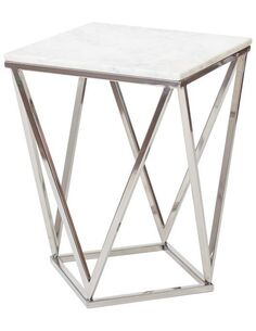 Table FABRICATION Argent Marbre - par Arte Espina