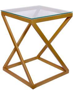 Table d'appoint MANTRA 140 Or - par Arte Espina