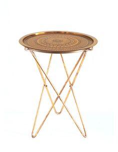 Table d'appoint CAIPIRINHA 410 Or - par Arte Espina