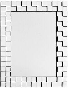 Miroir mural DIONYSUS 1210 Argent - par Arte Espina