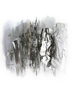 Tableau peint Aluminium INTERMIXTURE I  - par Arte Espina