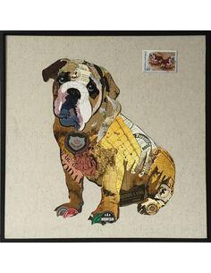 Tableau peint Patchwork MANHATTAN II  - par Arte Espina