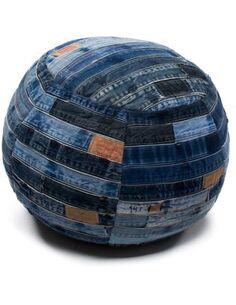 Pouf DENIM 210 Bleu - par Arte Espina