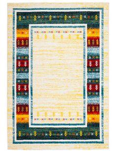Tapis tissé CASTARA 254 Multicolore - par Arte Espina