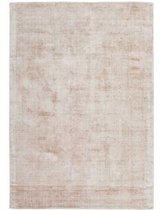 Tapis fait à la main LUXE 110 IVORY Taupe - par Arte Espina