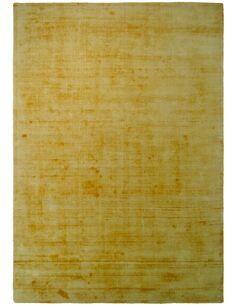 Tapis fait à la main LUXE 110 Jaune - par Arte Espina